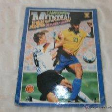 Álbum de fútbol completo: CAMPEONATO MUNDIAL USA 94 EDICIONES ESTADIO ORIGINAL COMPLETO. Lote 45393199