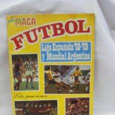 Álbum de fútbol completo: ÁLBUM DE CROMOS. MAGA. FUTBOL. LIGA ESPAÑOLA 78 – 79 Y MUNDIAL DE ARGENTINA. 1978.. Lote 45449577