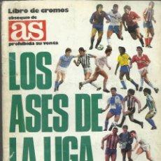 Álbum de fútbol completo: ALBUM COMPLETO DE LOS ASES DE LA LIGA 87/88 . Lote 45762538