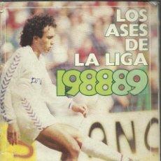 Álbum de fútbol completo: ALBUM COMPLETO DE LOS ASES DE LA LIGA 1988/99. Lote 45762887