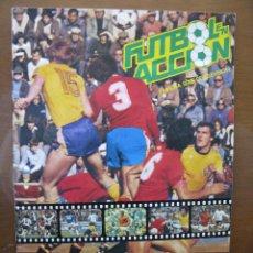Álbum de fútbol completo: ALBUM/ALBUN FUTBOL EN ACCIÓN. DANONE 82. 96 CROMOS. COMPLETO. 1981.. Lote 45959346