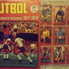 Álbum de fútbol completo: RUIZ ROMERO LIGA 1977/78 COLECCION COMPLETA NUEVA SIN PEGAR+ ALBUM VACIO. Lote 46066330