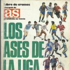 Álbum de fútbol completo: ALBUM COMPLETO DE LOS ASES DE LA LIGA 87/88 . Lote 46080579