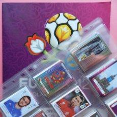 Álbum de fútbol completo: COLECCION COMPLETA EURO POLONIA UCRANIA 2012 - PANINI ALBUM VACIO + 540 CROMOS SIN PEGAR EUROCOPA 12. Lote 53222132