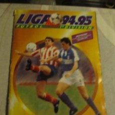 Álbum de fútbol completo: ALBUM DE CROMOS FUTBOL LIGA 94 95 94-95 EDITORIAL ESTE CON 92 CROMOS DOBLES Y MUCHOS FICHAJES. Lote 46323737