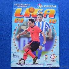 Álbum de fútbol completo: ** ALBUM LIGA ESTE 2009-2010. COLECCION COMPLETA **. Lote 46480092