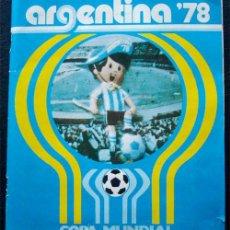Álbum de fútbol completo: ALBUM DE CROMOS LA GAZZETTA MUNDIAL 78 ARGENTINA 1978 - 100% COMPLETO. Lote 46483933