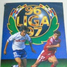 Álbum de fútbol completo: ÁLBUM DE CROMOS DE FÚTBOL. LIGA 1996 1997 96 97. COMPLETO. CONTIENE 548 CROMOS. Lote 46518093