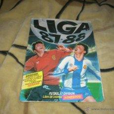 Álbum de fútbol completo: ALBUM DE LA LIGA 1987-88 DE ESTE COMPLETO Y CON ADISON. Lote 107349472