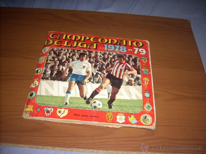 ALBUM DE LA LIGA 1978-79 DE FHER COMPLETO (Coleccionismo Deportivo - Álbumes y Cromos de Deportes - Álbumes de Fútbol Completos)