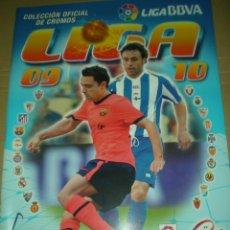 Álbum de fútbol completo: LIGA ESTE 2009-2010 COMPLETA CON ERRORES Y ÁLBUM VACÍO. Lote 47022973