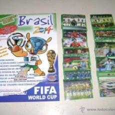 Álbum de fútbol completo: ALBUM RARO COPA MUNDIAL BRASIL 2014 - EDICIÓN ESPECIAL - 100% COMPLETO. Lote 166644938