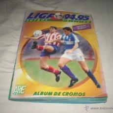 Álbum de fútbol completo: ALBUM DE LA LIGA 1994-95 DE ESTE COMPLETO Y CON DIFICILISIMOS. Lote 140049609