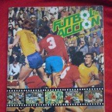 Álbum de fútbol completo: ALBUM DE CROMOS-''FUTBOL EN ACCIÓN'' (DANONE, 1981),COMPLETO,CROMOS BIEN PEGADOS. Lote 47183064