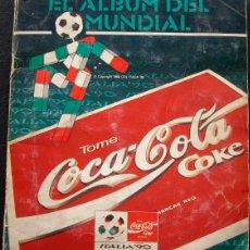 Álbum de fútbol completo: ALBUM DE CROMOS PANINI COCA COLA MUNDIAL 90 ITALIA 1990 - 100% COMPLETO. Lote 47323974
