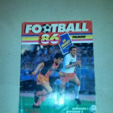Album de football complet: ALBUM LIGA FRANCESA 86. FOOTBALL 86 PANINI. Lote 47418324
