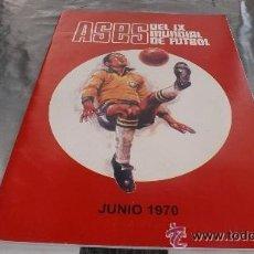 Álbum de fútbol completo: FHER - COLECCIÓN MUNDIAL MEXICO 70 ALBUM COMPLETO EN PERFECTO ESTADO . Lote 47421073