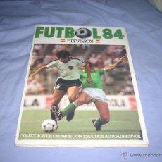 Álbum de fútbol completo: INCREIBLE ALBUM COMPLETO Y CON LOS IMPOSIBLES DE LA LIGA 1983-84 DE CROMOS CANO +REGALO. Lote 47743735