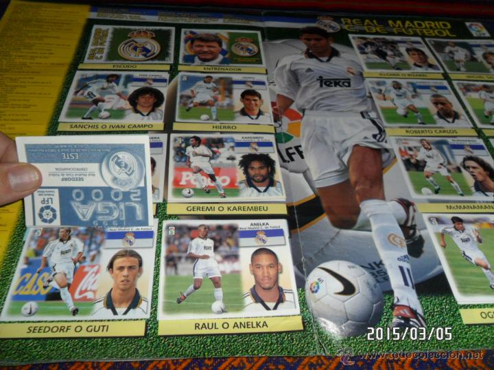 Álbum de fútbol completo: CROMOS DOBLES BIEN PEGADOS. - Foto 2 - 48154733