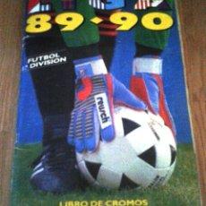 Álbum de fútbol completo: ALBUM CROMOS EDICIONES ESTE LIGA 1989 - 1990 ( 89 - 90 ). Lote 145441661