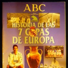 Álbum de fútbol completo: ALBUM COMPLETO REAL MADRID HISTORIA DE LAS 7 COPAS DE EUROPA 1998 RAUL. Lote 48524751