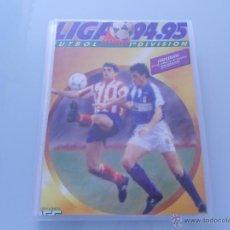 Álbum de fútbol completo: ESTE 94 95 ARCHIVADOR CON 539 CROMOS COLECCIÓN COMPLETA A FALTA DE D'ALESSANDRO. Lote 48530334
