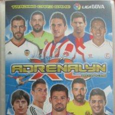 Álbum de fútbol completo: ADRENALYN XL 14 15 BBVA 2014 2015 ARCHIVADOR + COLECCIÓN COMPLETA - LEER. Lote 48645051