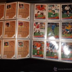 Álbum de fútbol completo: COLECCIÓN UPPER DECK MUNDIAL USA 94 - COMPLETA (INGLÉS-ALEMÁN) 210 FICHAS + 9 HOLOGRAMAS. Lote 169339740