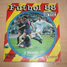 Álbum de fútbol completo: ÁLBUM FÚTBOL 88 DE PANINI COMPLETO. Lote 49043964