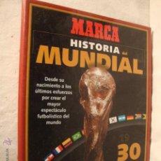 Álbum de fútbol completo: FUTBOL MUNDIAL DE FRANCIA 1998 -MARCA- HISTORIA DEL MUNDIAL 1930-1998 .. Lote 49142542