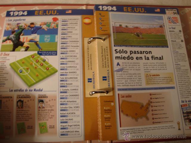 Álbum de fútbol completo: FUTBOL FICHERO DEL MUNDIAL FRANCIA 1998 - Archivador Marca 1998 - Historia COMPLETO - Foto 3 - 49142901