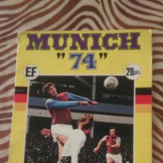 Album de football complet: MUNICH 74 - CAMPEONATO MUNDIAL DE FUTBOL - FHER. Lote 49166499