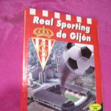 Álbum de fútbol completo: REAL SPORTING DE GIJON SU HISTORIA EN CROMOS ALBUM DE FUTBOL COMPLETO C1. Lote 49201548
