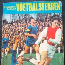 Caderneta de futebol completa: ALBUM DE CROMOS VOETBAL STERREN 1969-70 - LIGA HOLANDESA - 100% COMPLETO. Lote 30411676