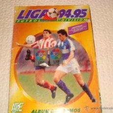 Álbum de fútbol completo: ALBUM DE FÚTBOL - LIGA 94-95 1ª DIVISIÓN - COMPLETO. Lote 49454161