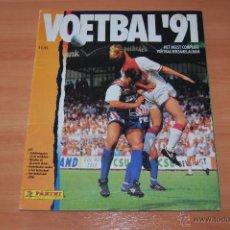 Álbum de fútbol completo: ALBUM CROMOS COMPLETO FUTBOL VOETBAL 91 EREDIVISIE LIGA HOLANDESA PANINI.. Lote 49547583
