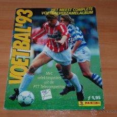 Álbum de fútbol completo: ALBUM CROMOS COMPLETO FUTBOL VOETBAL 93 EREDIVISIE LIGA HOLANDESA PANINI.. Lote 49547618