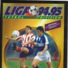 Álbum de fútbol completo: ÁLBUM DE CROMOS DE FÚTBOL.COMPLETO LIGA 94/95 SALVAT - PANINI - EDICIONES ESTE. EDICION FACSIMIL. Lote 277686293