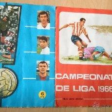 Álbum de fútbol completo: CAMPEONATO DE LIGA 1966/67-DISGRA-272 CROMOS 17 EQUIPOS /// PERFECTO///. Lote 49619826