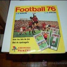 Álbum de fútbol completo: BÉLGICA, FÚTBOL PRIMERA Y SEGUNDA DIVISIÓN. ÁLBUM DE CROMOS TEMPORADA 1975-76. DE PANINI. COMPLETO. Lote 182904601