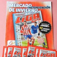 Álbum de fútbol completo: 42 CROMOS AMPLIACION MERCADO INVIERNO ESTE 2014-2015 + HOJAS - PANINI 14 15 COMPLETA SOBRE SIN ABRIR. Lote 161434893