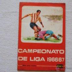 Álbum de fútbol completo: ALBUM CAMPEONATO DE LIGA DISGRA-FHER CAMPEONATO DE LIGA 1966-67. Lote 49706099