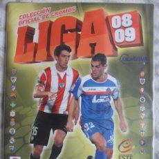 Álbum de fútbol completo: LIGA 08 09. CAMPELONATO NACIONAL DE LIGA BBVA 2008/2009.FUTBOL. PRIMERA DIVISION. ALBUM DE CROMOS CO. Lote 49745476