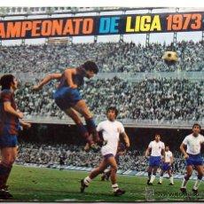 Álbum de fútbol completo: ALBUM 1973 1974 FHER DISGRA CAMPEONATO LIGA 73 74 CON POSTER COMPLETO. EXCELENTE ESTADO. Lote 49749534