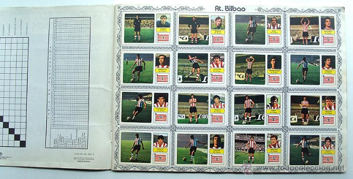Álbum de fútbol completo: album 1973 1974 Fher Disgra Campeonato Liga 73 74 Con Poster completo. Excelente estado - Foto 2 - 49749534
