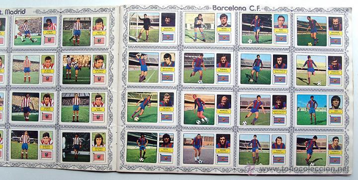 Álbum de fútbol completo: album 1973 1974 Fher Disgra Campeonato Liga 73 74 Con Poster completo. Excelente estado - Foto 3 - 49749534