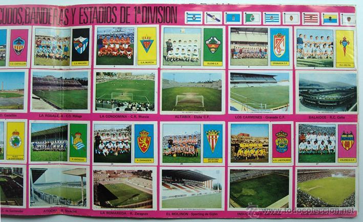 Álbum de fútbol completo: album 1973 1974 Fher Disgra Campeonato Liga 73 74 Con Poster completo. Excelente estado - Foto 5 - 49749534
