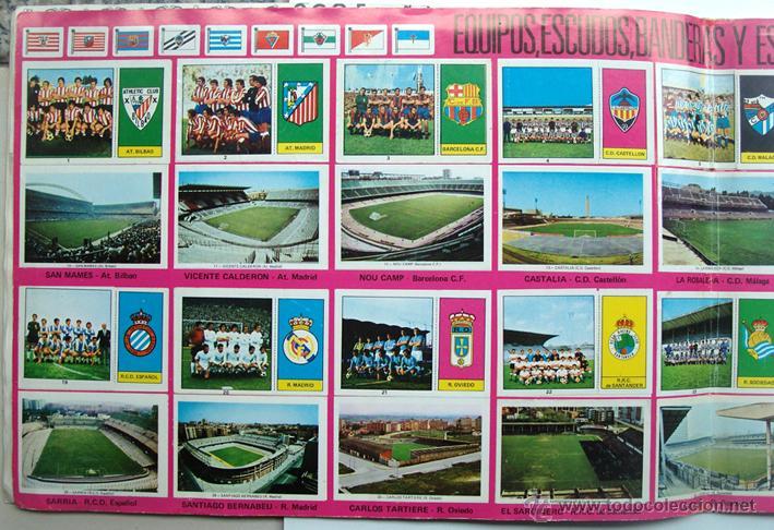Álbum de fútbol completo: album 1973 1974 Fher Disgra Campeonato Liga 73 74 Con Poster completo. Excelente estado - Foto 6 - 49749534