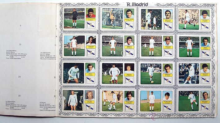 Álbum de fútbol completo: album 1973 1974 Fher Disgra Campeonato Liga 73 74 Con Poster completo. Excelente estado - Foto 7 - 49749534