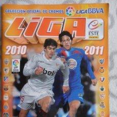 Álbum de fútbol completo: LIGA 2010 2011. COLECCION OFICIAL DE CROMOS. LIGA BBVA. CAMPEONATO NACIONAL DE LIGA 2010/2011. FUTBO. Lote 49755844